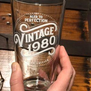 """""""Vintage 1980"""" Beer mug"""